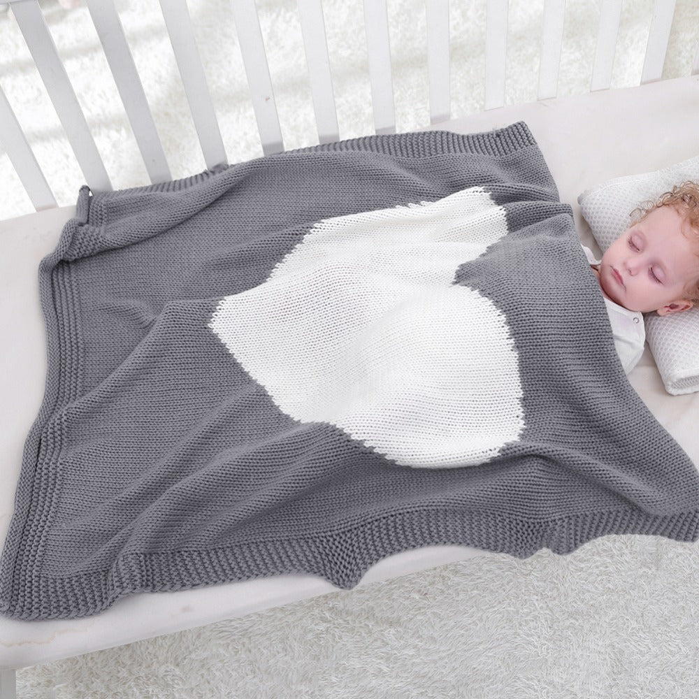 Baby Blanket Kids Summer Spring Soft Cotton Blankets Newborn Baby Swaddle Sleeping Bed Hole Wrap Children Bedding Bath Towels