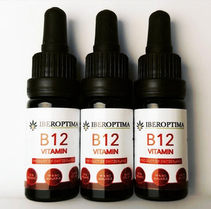 Vitamin B12, Micellized Water Soluble drops