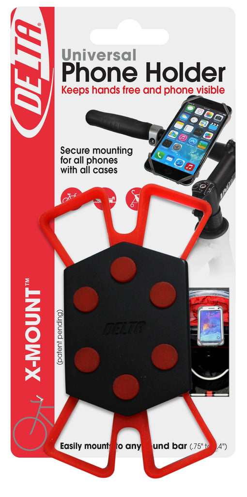 Delta Cycle x Mount Bike Phone Holder Caddy Case iPhone