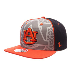 check out ab9d4 59d84 ZHATS NCAA Auburn Tigers Men s Reflector Snapback Hat, Silver Navy,  Adjustable