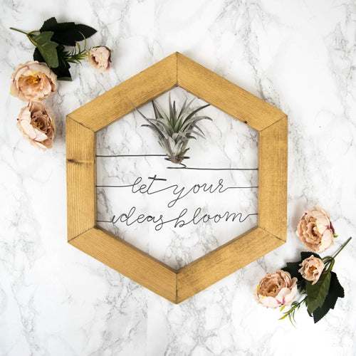 Let Your Ideas Bloom - rustandglam