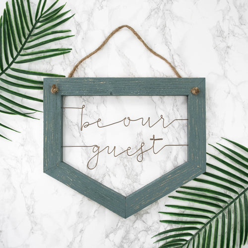 Be Our Guest - rustandglam