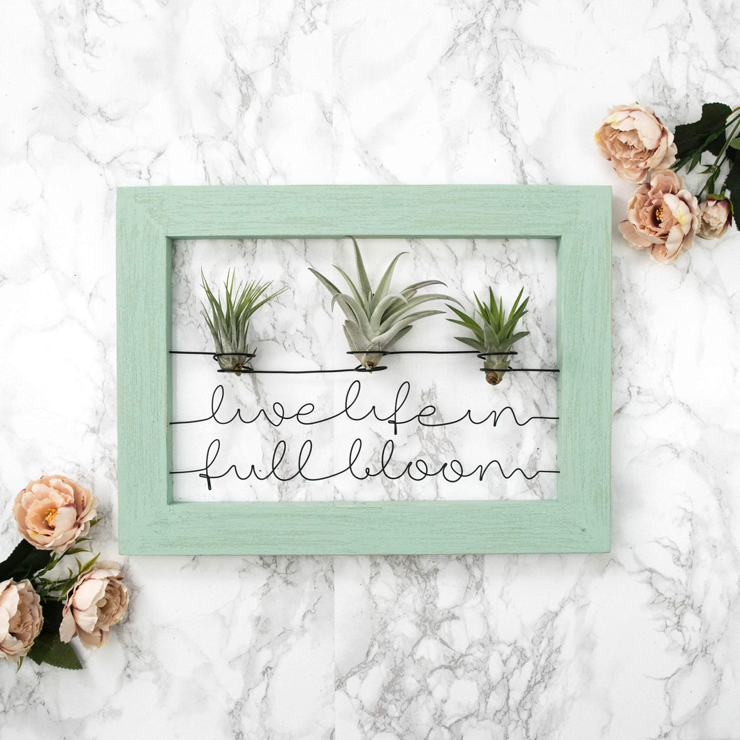 Live Life In Full Bloom - rustandglam