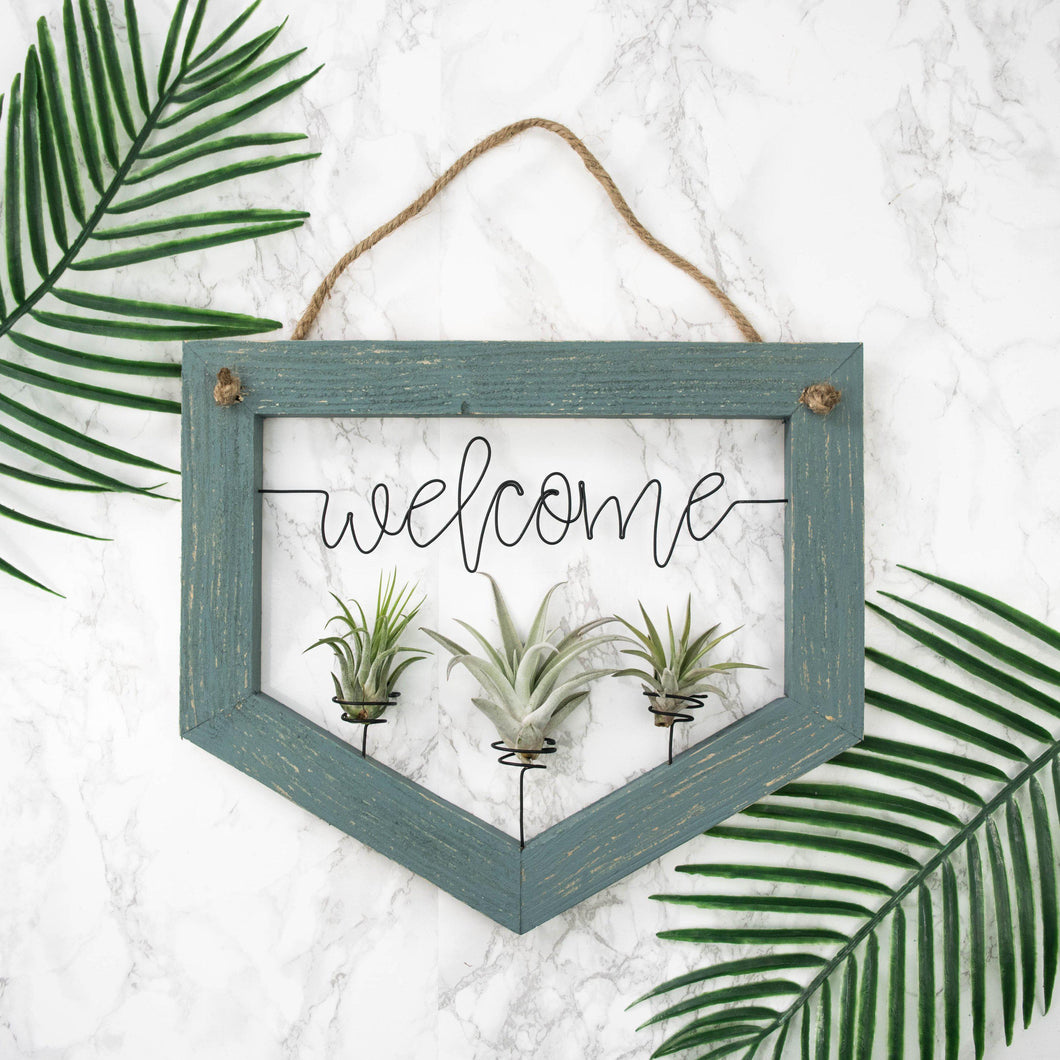 Welcome Planter - rustandglam