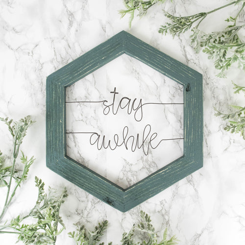 Stay Awhile - rustandglam