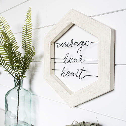 Courage Dear Heart - rustandglam