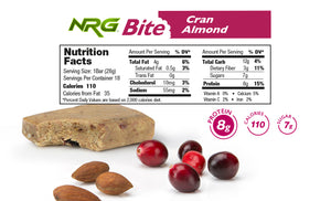 Protein Snack Bar Tastes Great, Low in Sugar | NRG Bite