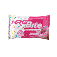 NRG Bite Strawberry Frosted Donut Snack Bar - 12 ct.