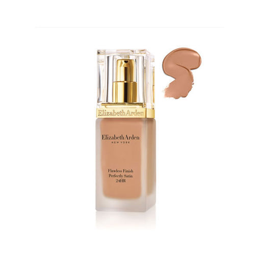Elizabeth Arden Flawless Finish Perfectly Satin 24HR Makeup Spf15 Cameo 30ml