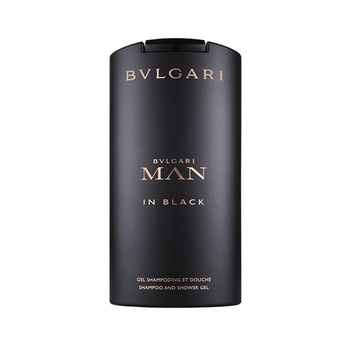 Bvlgari Man In Black Shampoo And Shower Gel 200ml