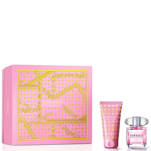 Versace Bright Crystal Gift Set 30ml EDT + 50ml Body Lotion