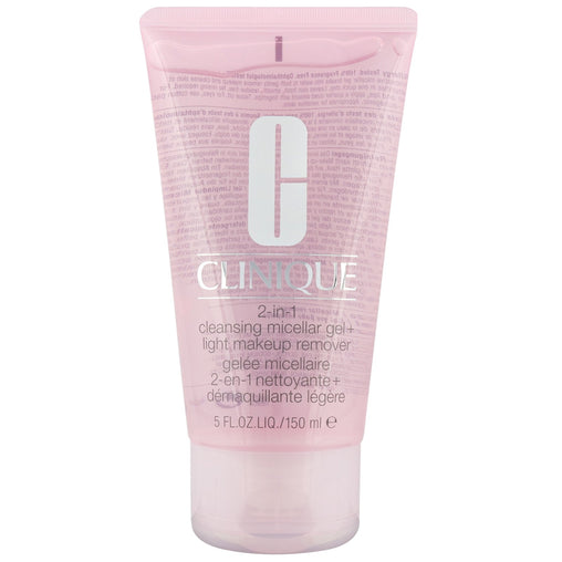 Clinique 2-in-1 Cleansing Micellar Gel & Light Makeup Remover 150ml