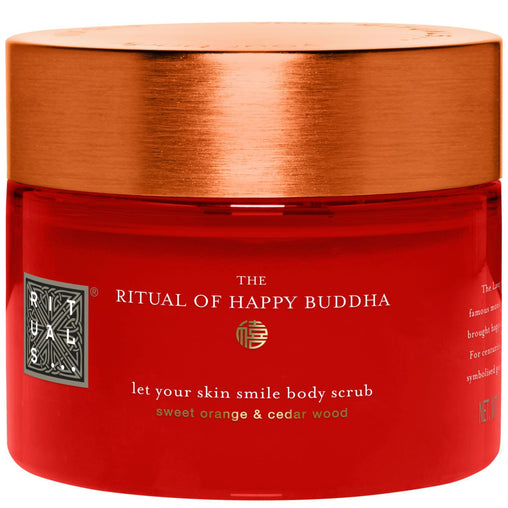 Rituals The Ritual of Happy Buddha Body Scrub 375g - Sweet Orange and Cedar Wood