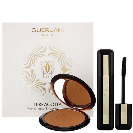 Guerlain Terracotta Gift Set 10g Bronzing Powder - 03 + 8.5ml  Mascara - 01 Noir