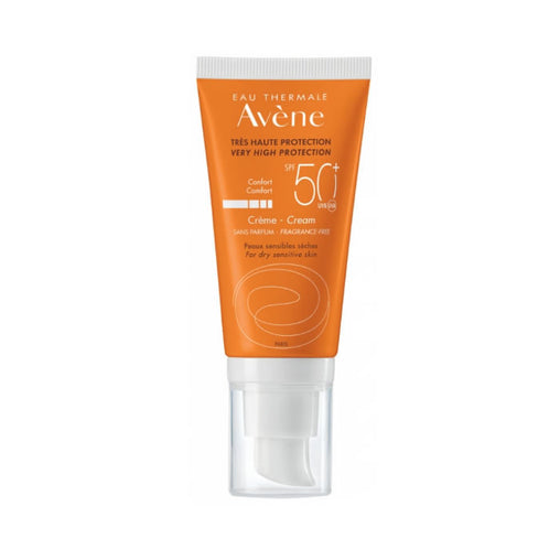 Avene Cream Spf50 Fragrance Free 50ml
