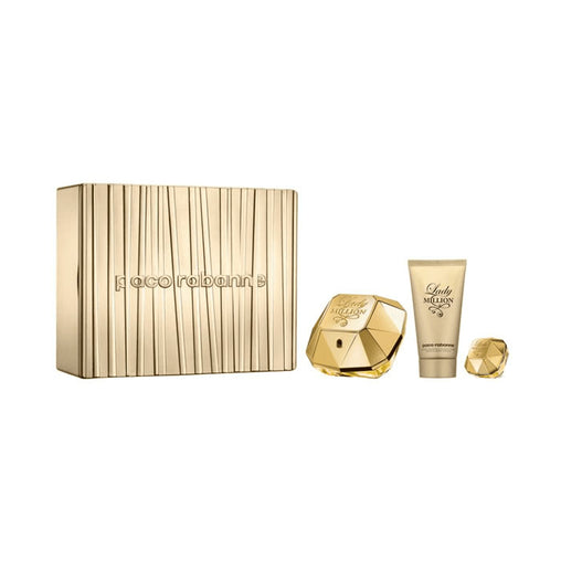 Paco Rabanne Lady Million Eau De Perfume Spray 50ml Set 3 Pieces 2020