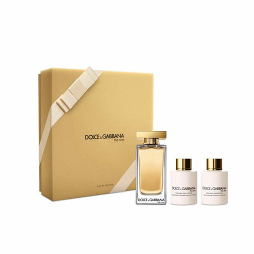 Doce & Gabbana The One Eau De Toilette Spray 100ml Set 3 Pieces 2017