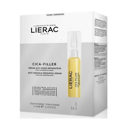 Lierac Cica-Filler Anti-Wrinkle Repairing Serum 3x10ml