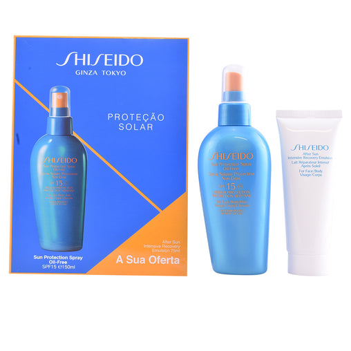 Shiseido Global Sun Protection Spray Spf15 150ml Set 2 Pieces