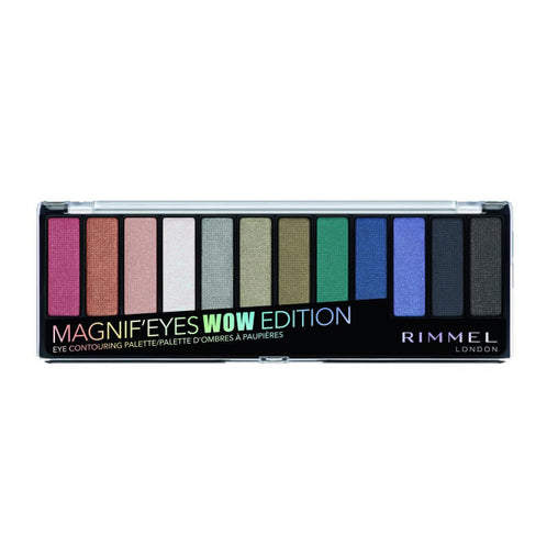 Rimmel London Magnif'Eyes Eyeshadow Palette 006 WOW Edition 12 Shades