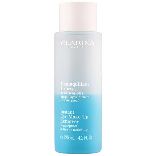 Clarins Cleansers and Toners Instant Eye Make-Up Remover 125ml Waterproof & Heavy Make-Up