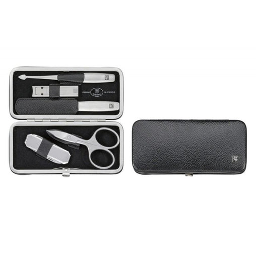 Tweezerman Twinox Black Manicure Case Set 5 Pieces 2020