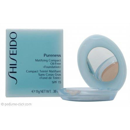 Shiseido Pureness Matifying Compact Oil-free Powder Foundation SPF15 Natural Ivory