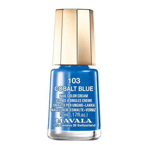Mavala Nail Polish 103 Cobalt Blue 5ml
