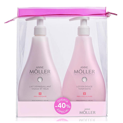 Anne Moller Makeup Remover Lotion Normal And Dry Skin 400ml Set 2 Pieces