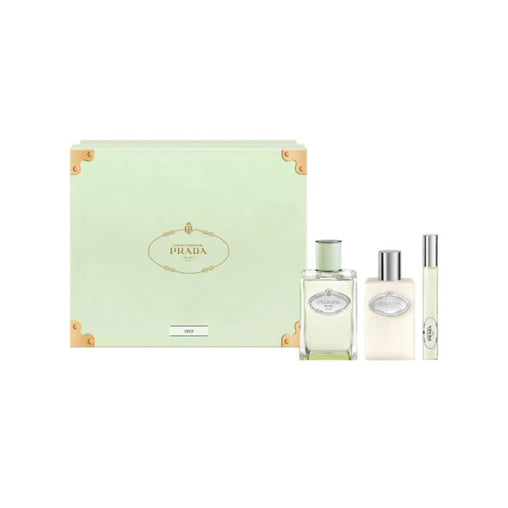 Prada Infusion Iris Eau De Perfume Spray 100ml Set 3 Pieces 2020