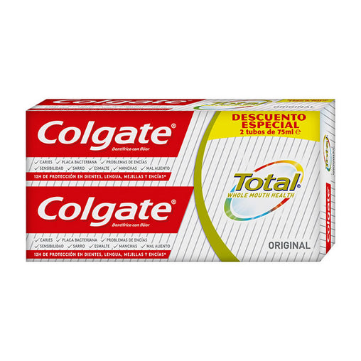 Colgate Total Toothpaste 2x75ml 2019