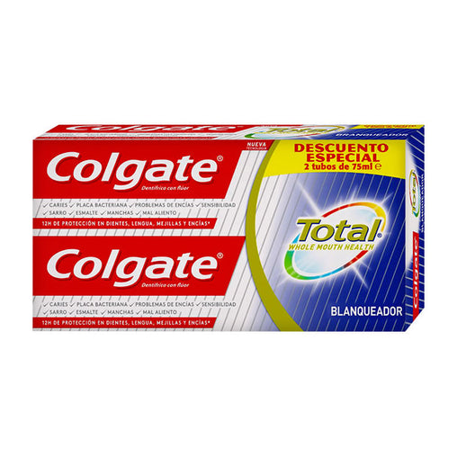 Colgate Whitening Toothpaste 2x75ml