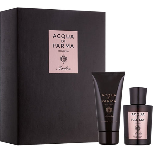 Acqua di Parma Colonia Ambra Gift Set 100ml EDC + 75ml Shower Gel
