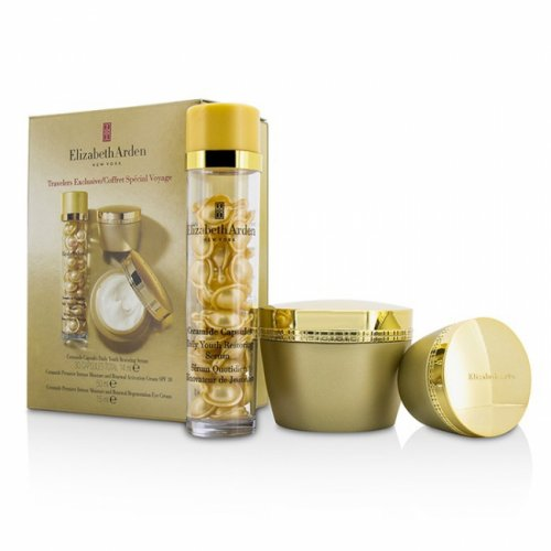 Elizabeth Arden Ceramide Premiere Gift Set 50ml Face Cream + 5ml Eye Cream + 14 Serum Capsules
