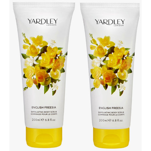 Yardley English Freesia Exfoliating Body Scrub 200ml