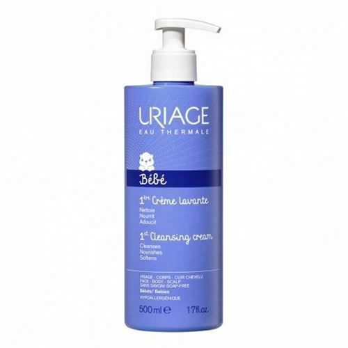 Uriage Baby Foaming and Cleansing Cream 500ml