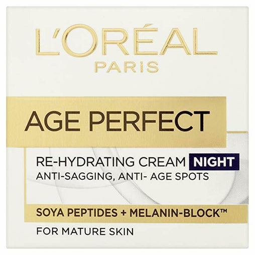 L'Oréal Age Perfect Re-Hydrating Night Cream 50ml Mature Skin
