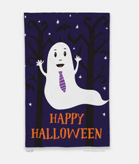 Boo! Happy Halloween Garden Flag
