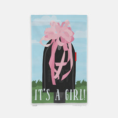 It's a Girl! Garden Flag