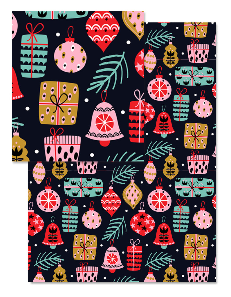 Festive Gifts Wrapping Paper