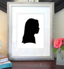 Custom Cameo Silhouettes (made from your photo)
