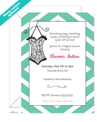 Modern Bridal Shower & Bachelorette Invitations
