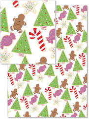 Holiday Cookies Wrapping Paper