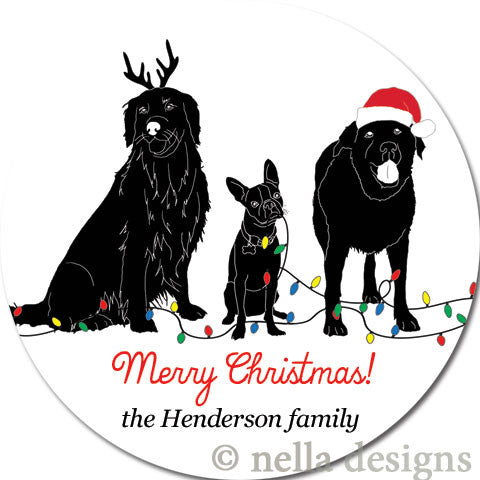 personalized labels address labels holiday labels holiday
