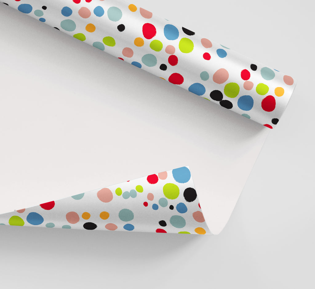 Circus Dots Wrapping Paper
