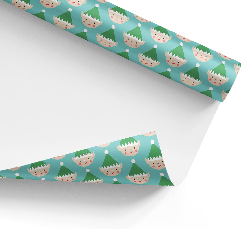Christmas Elf Wrapping Paper