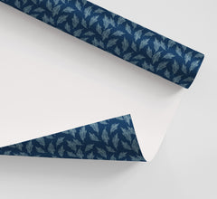 Carolina Feathers Wrapping Paper