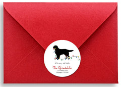 Personalized Return Address Labels - Golden Retriever
