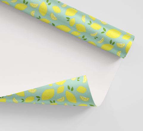 Lemon Wrapping Paper