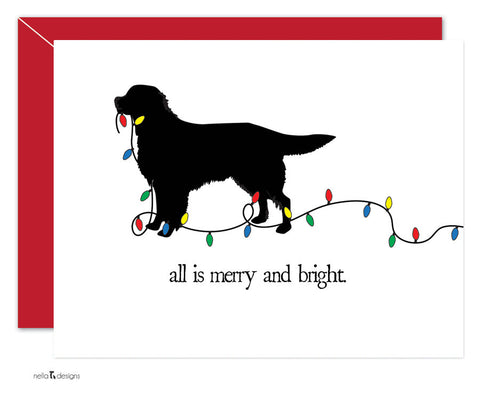 Golden Retriever Holiday Cards